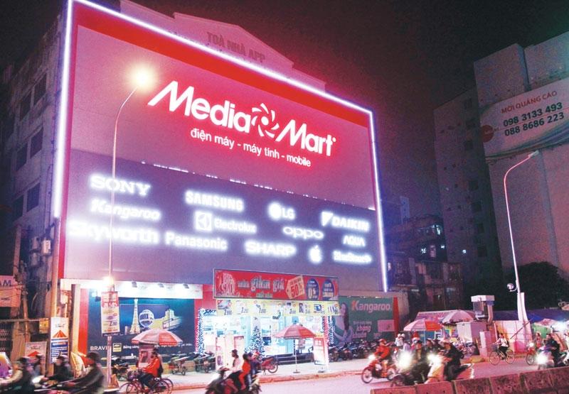 Cửa hàng thuộc hệ thống của Media Mart
