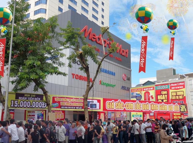 Công ty cổ phần Media Mart Việt Nam là một trong những công ty kinh doanh siêu thị điện máy hàng đầu tại Việt Nam.