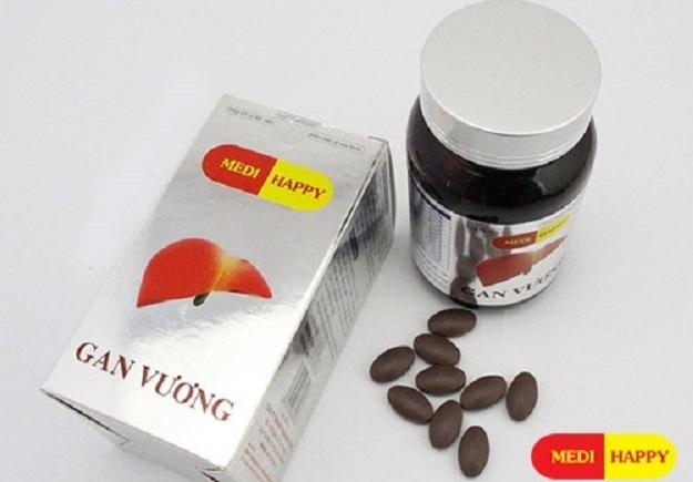 Thuốc MediHappy Gan Vương