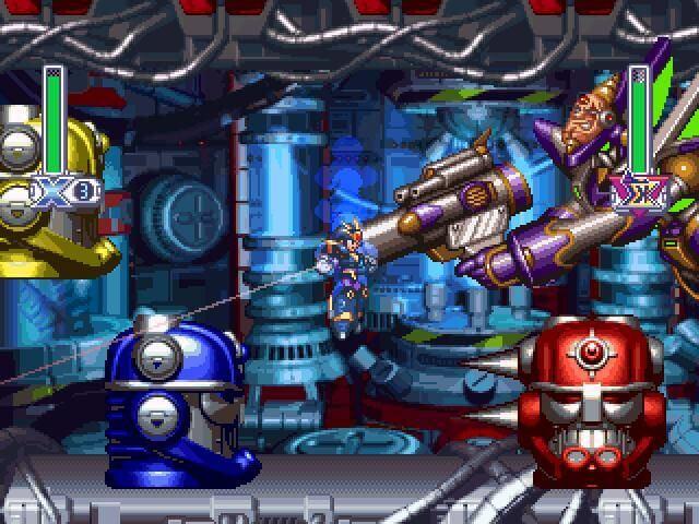 Tựa game Mega Man X4