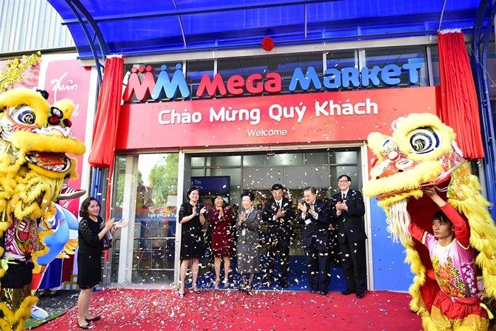 Siêu thị Mega Market Việt Nam.