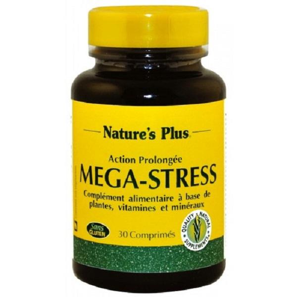 Mega-Stress Complex Nature's Plus - Viên uống giảm thiểu căng thẳng hàng đầu tại Mỹ