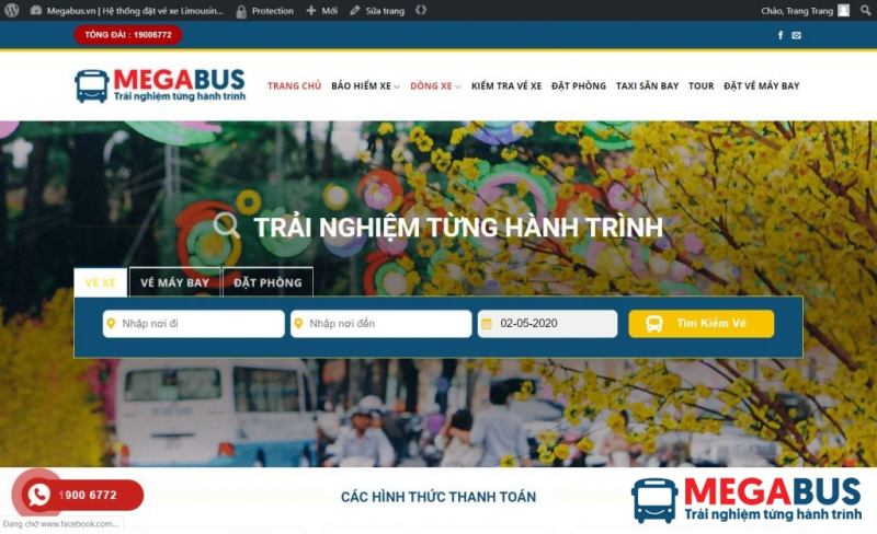 Website Megabus.vn