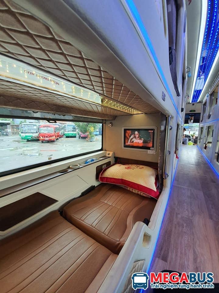 Xe giường nằm chất lượng tại Megabus.vn