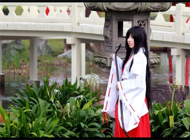 Nữ pháp sư Kikyou hồng nhan bạc phận đã được Meiji Greenie thể hiện rất hoàn hảo
