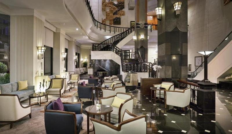 Phòng khách của khách sạn Mélia