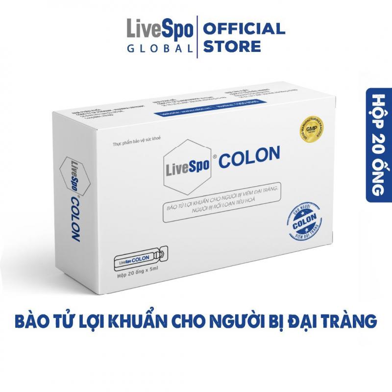 Men vi sinh 60 tỷ bào tử lợi khuẩn - LiveSpo Colon