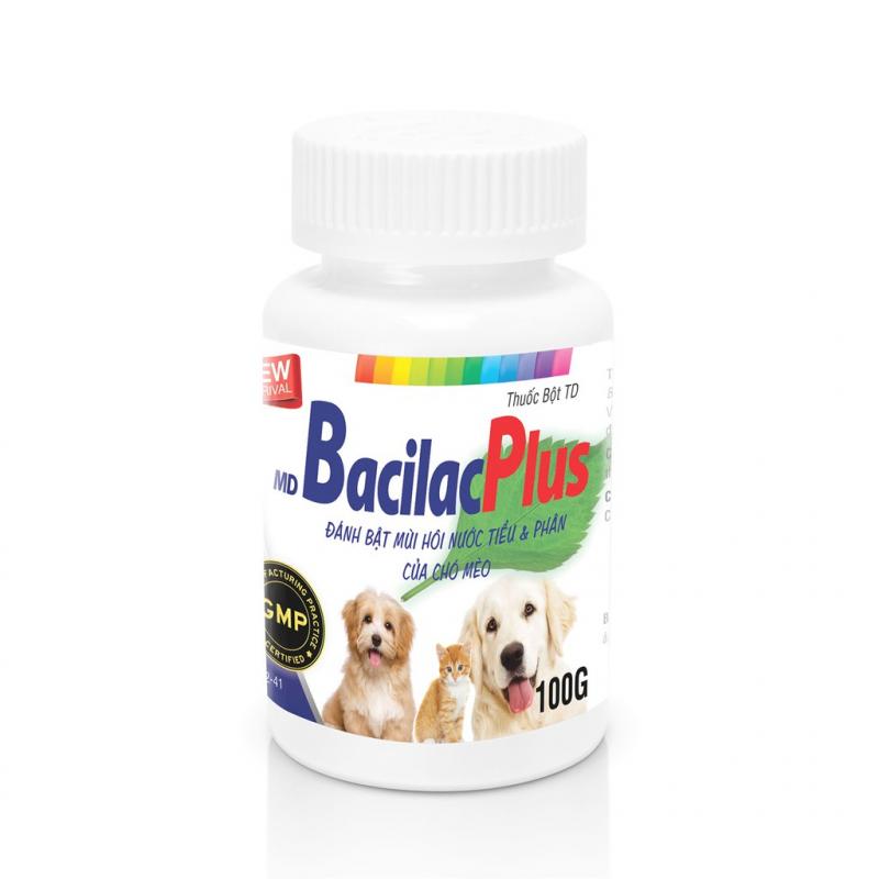 Men vi sinh Bacilac cho chó và mèo