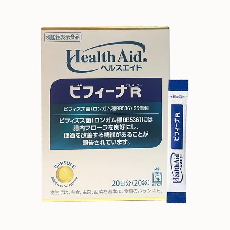 Thực phẩm chức năng Men vi sinh Health Aid Bifina 20 gói - Hỗ trợ tiêu hóa