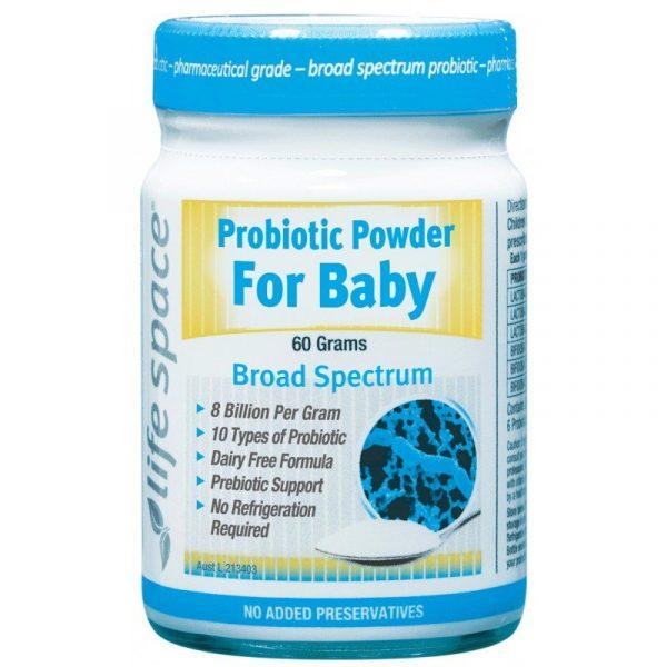 Men Vi Sinh LifeSpace Probiotic Powder For Baby Của Úc