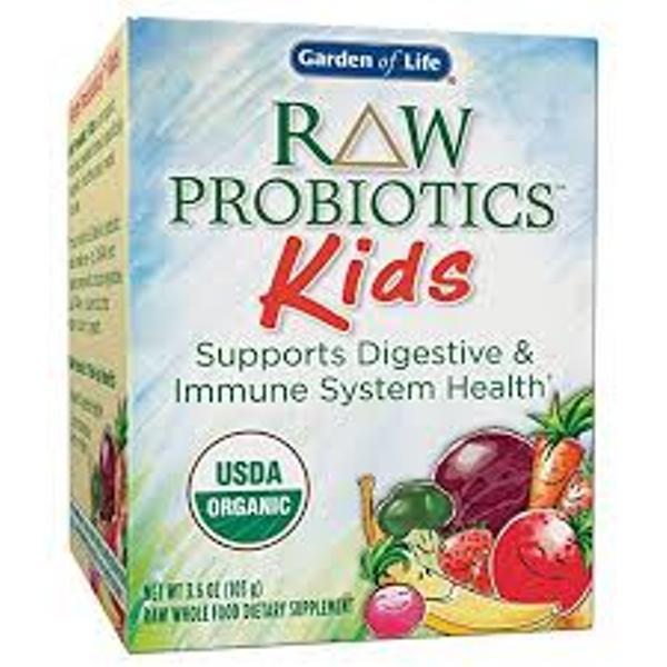 Men vi sinh Raw Organic Probiotic hỗ trợ tiêu hóa cho trẻ em (Garden of life