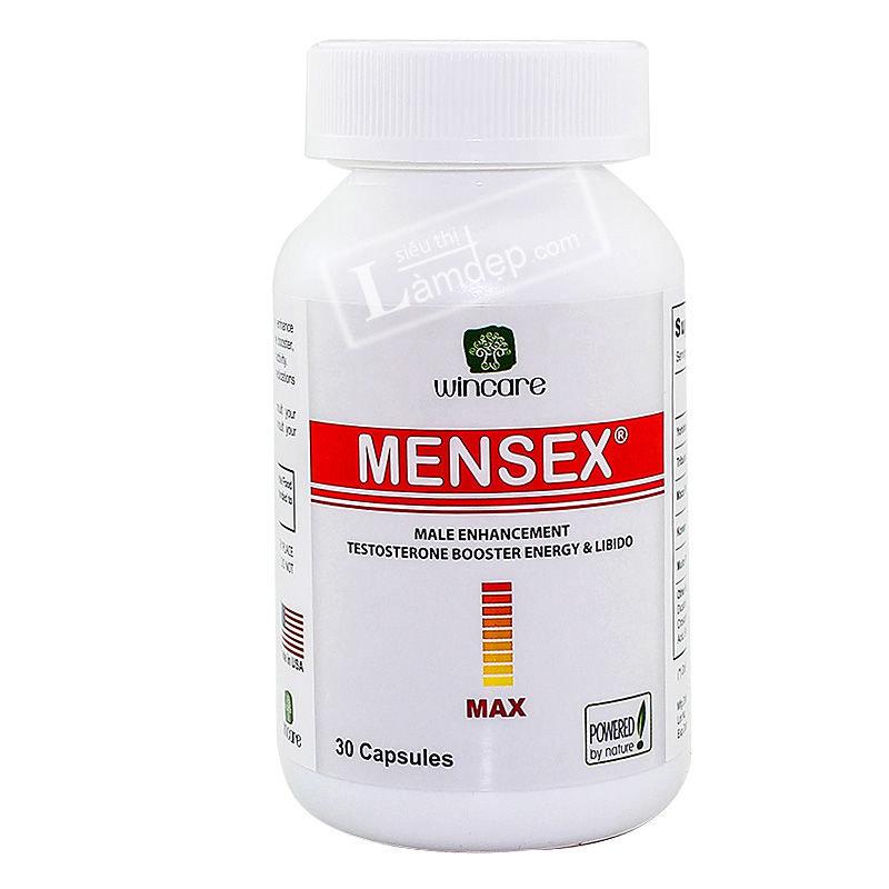 Mensex MAX giúp tăng cường sinh lý nam giới, cải thiện sức khỏe, giúp nam giới mạnh mẽ và chủ động hơn trong chuyện chăn gối.