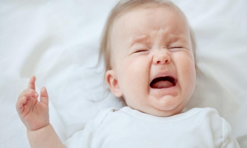 Mẹo chữa bé khóc dạ đề