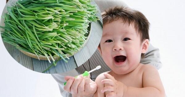 Mẹo giúp con mọc răng không sốt