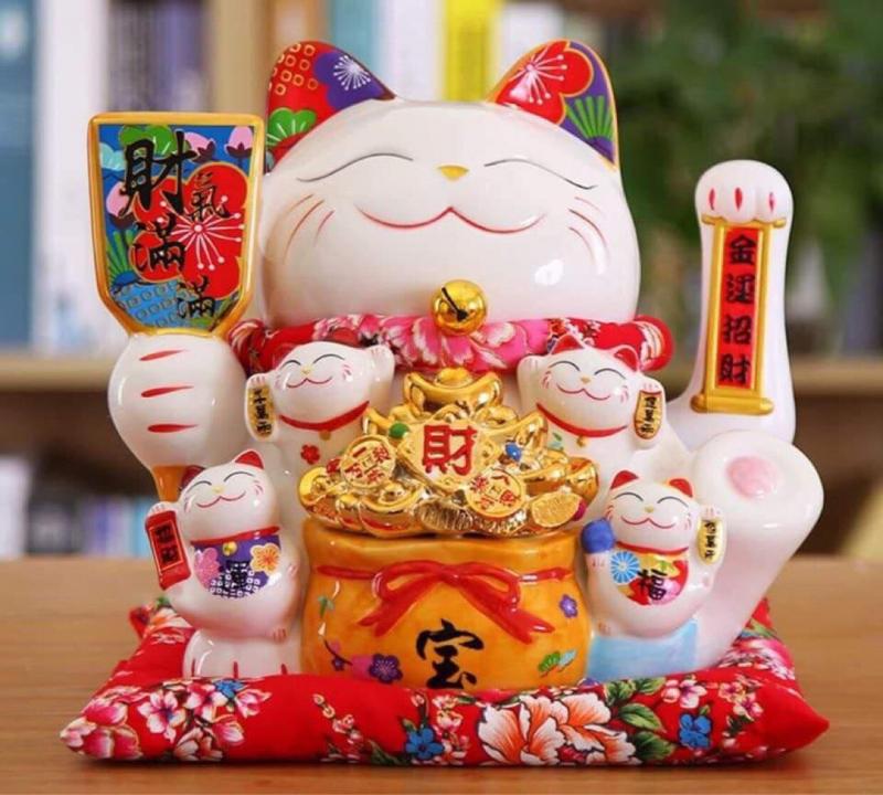 Mèo May Mắn - Maneki Neko