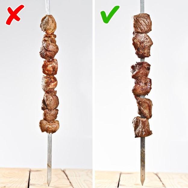 Xếp thịt có khoảng cách