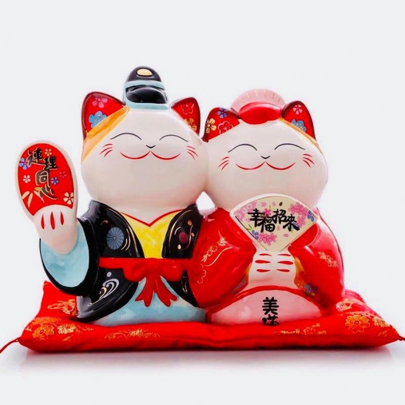 Mèo thần tài - Maneki Neko