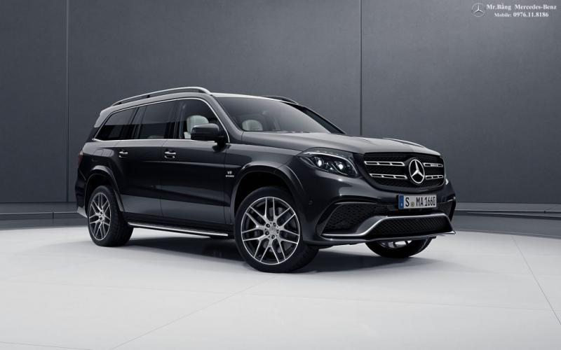 Mercedes AMG GLS 63 4MATIC – Giá: 11 tỷ VND