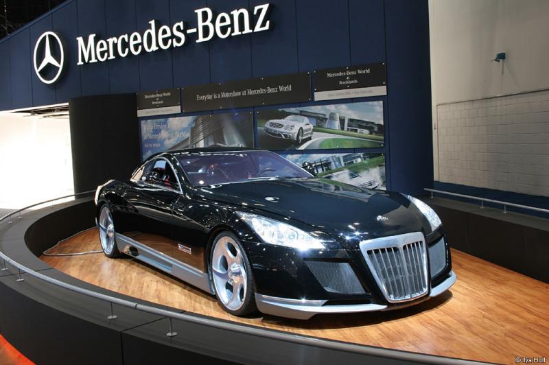 Mercedes-Benz Maybach Exelero: 8 triệu USD (khoảng 182 tỷ đồng)