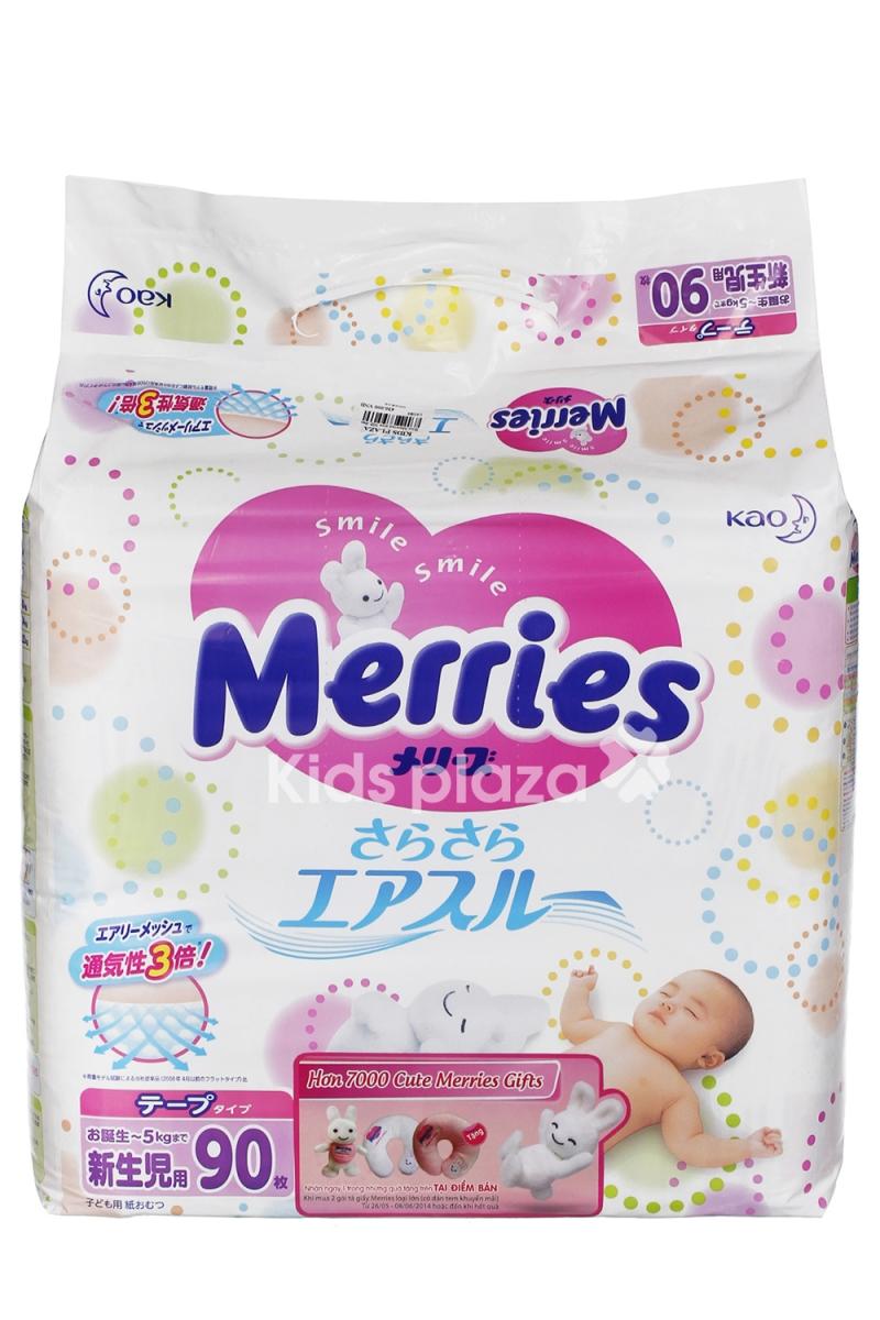 Merries là một thương hiệu tã giấy nhập khẩu từ Nhật Bản, chất lượng cao