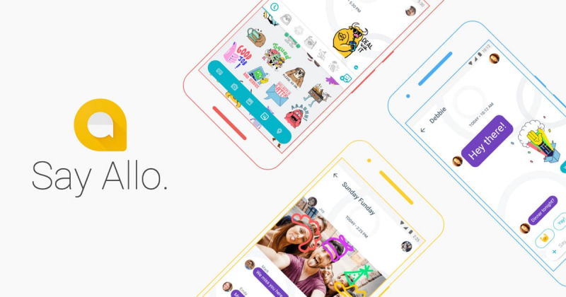 Ứng dụng chat Google Allo
