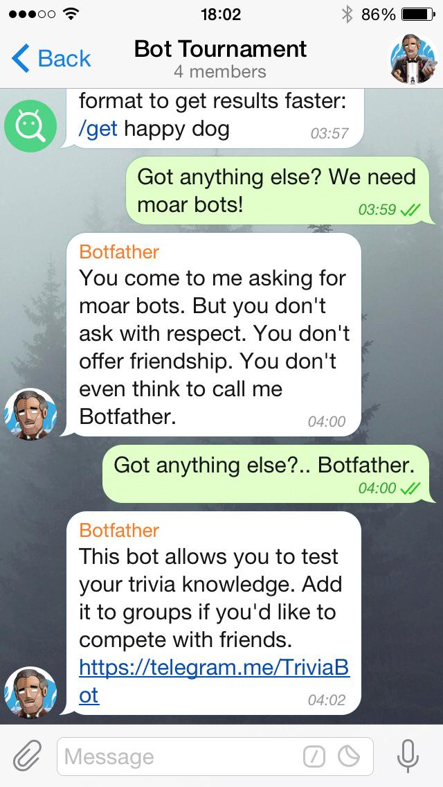 Ứng dụng chat Telegram