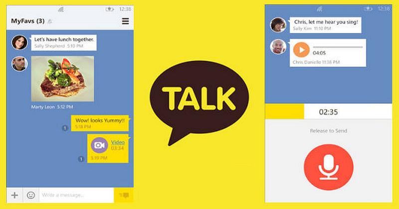 Ứng dụng chat Kakao Talk