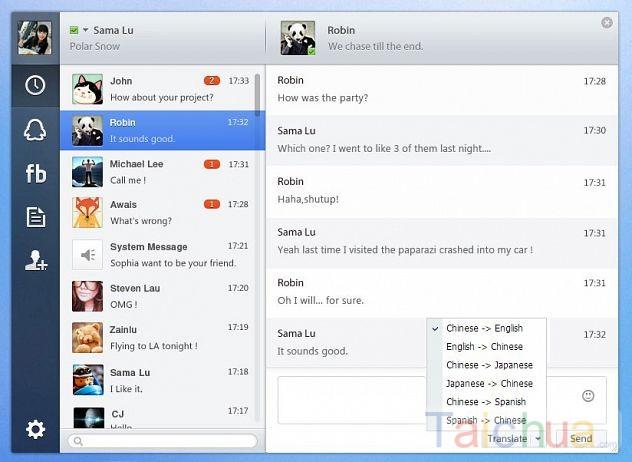 Ứng dụng QQ Chat