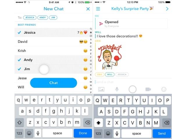 Ứng dụng Snapchat