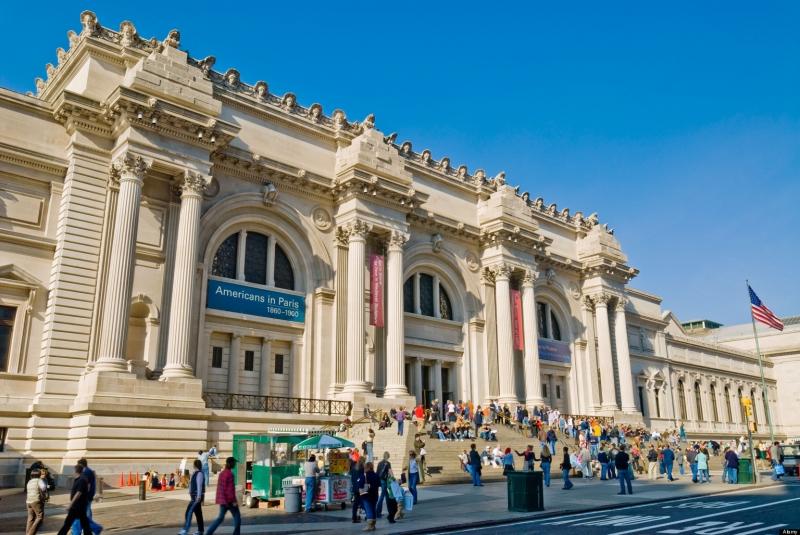 Bên ngoài bảo tàng nghệ thuật Metropolitan