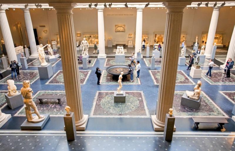 Bên trong bảo tàng nghệ thuật Metropolitan