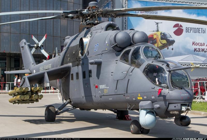 Trực thăng Mi-35M.