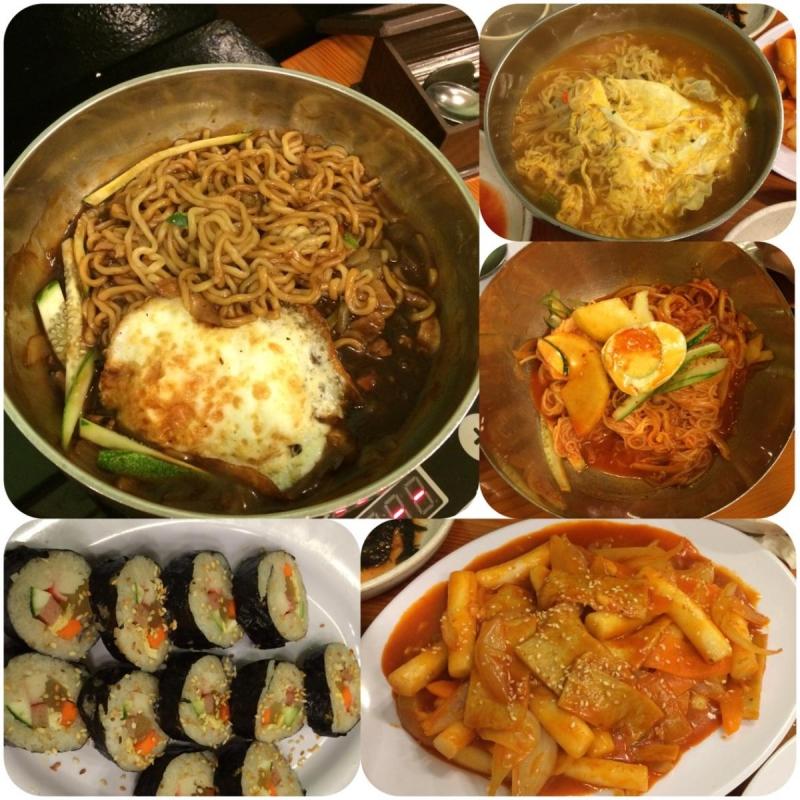 Đồ ăn tại Mì Hàn Quốc
