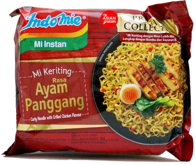 Mì Indomie Curly Noodle With Grilled Chicken Flavour