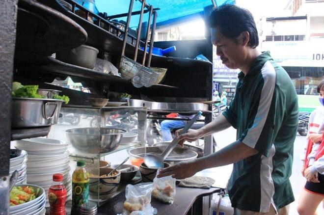 Tiệm mì Nguyên Lợi đã có thời gian hơn 50 năm
