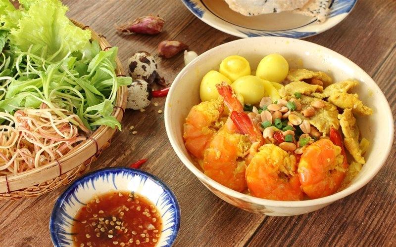 Mì Quảng - Bún Bò Hạnh - Chợ Thái Bình