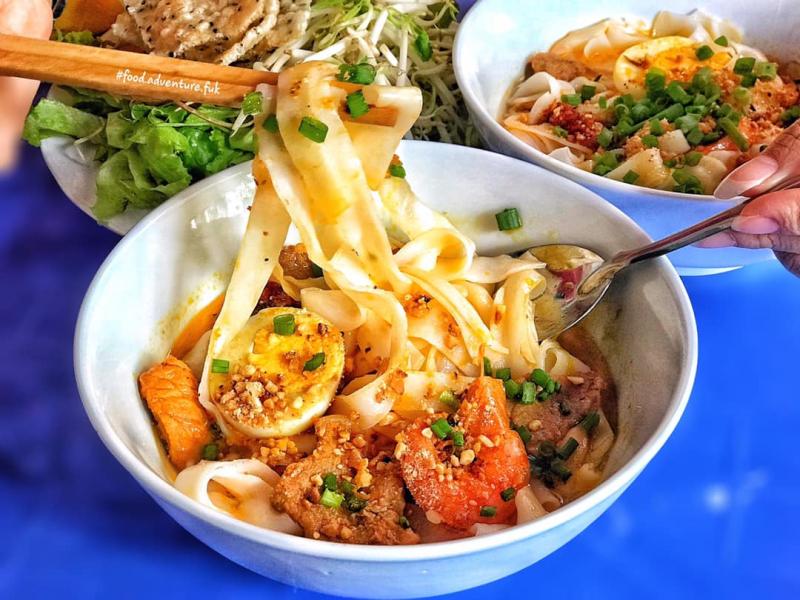 Top 7 Quán mì quảng Hội An đậm đà hương vị miền Trung
