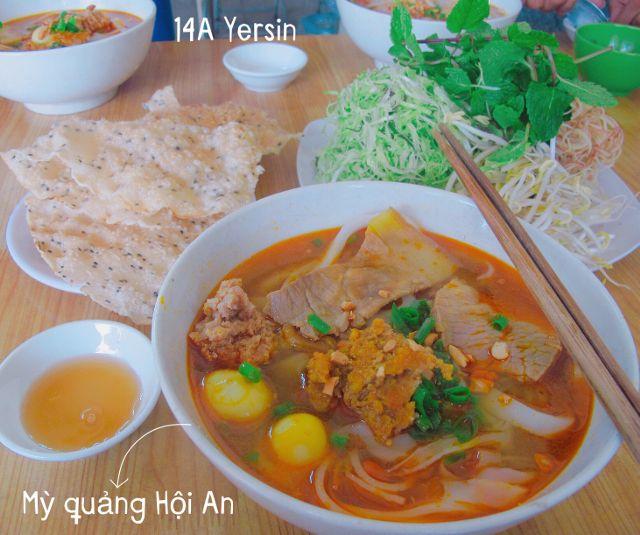 Mì Quảng Hội An - Yersin là địa chỉ ăn mì Quảng nổi tiếng tại thành phố Đà Lạt.