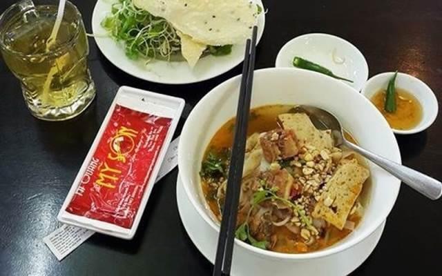 Hình ảnh món mì ở tiệm Mì Quảng Mỹ Sơn