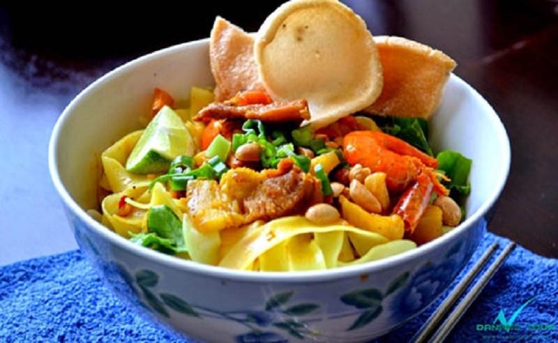 Mì Quảng - món ăn đậm chất miền Trung