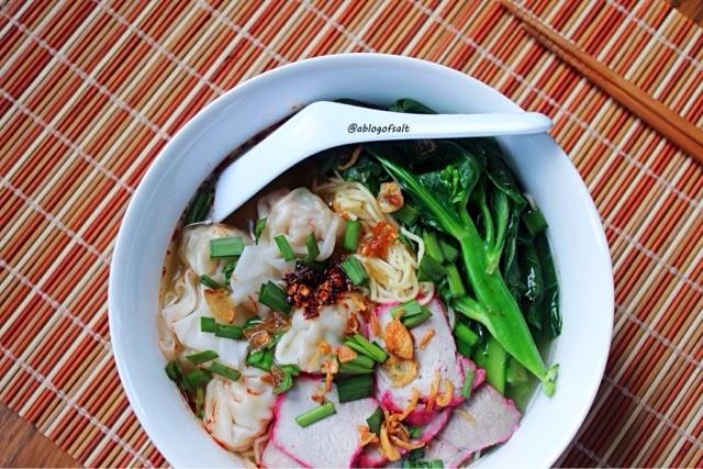 Mì Wonton là một trong những món ăn khá nổi tiếng của Malaysia, xưa còn có tên gọi khác là Tok Tok Mee
