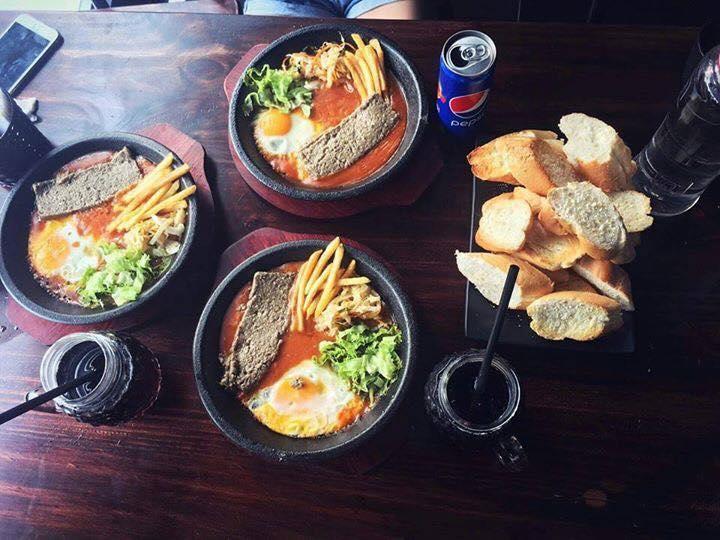Món ăn được trang trí đep mắt tại Miaow's Pizza & Bingsu