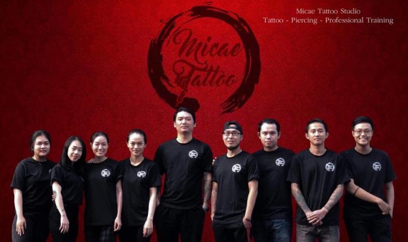 Đội ngũ thợ xăm tại Micae Tattoo vàamp; Piercing