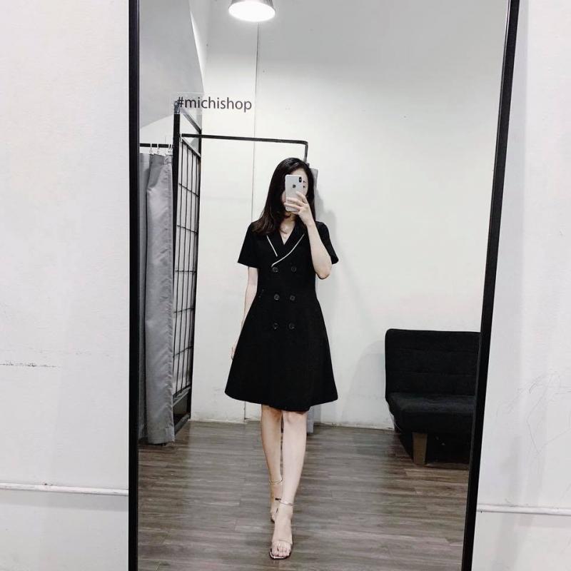 Váy sơ mi công sở tại Michi Shop