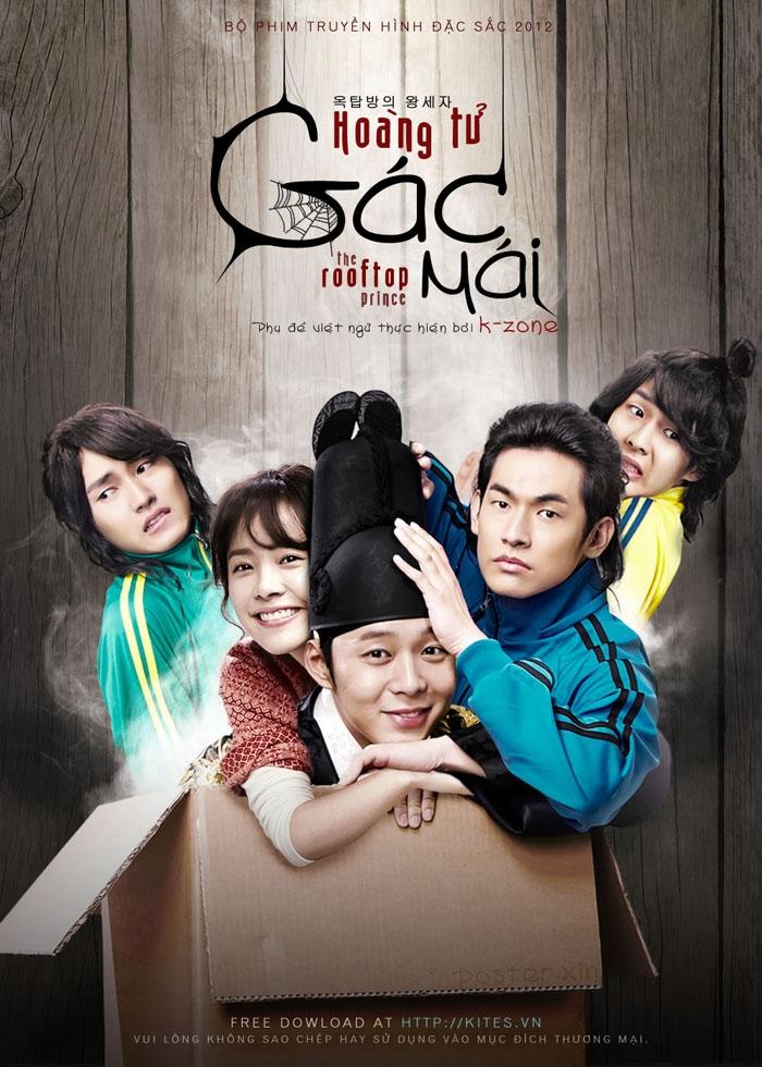 Micky Yoochun trong Hoàng tử gác mái