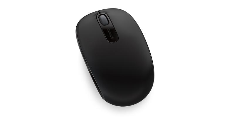 Chuột không dây Microsoft 1850 nổi bật ở thiết kế gọn gàng, bắt mắt