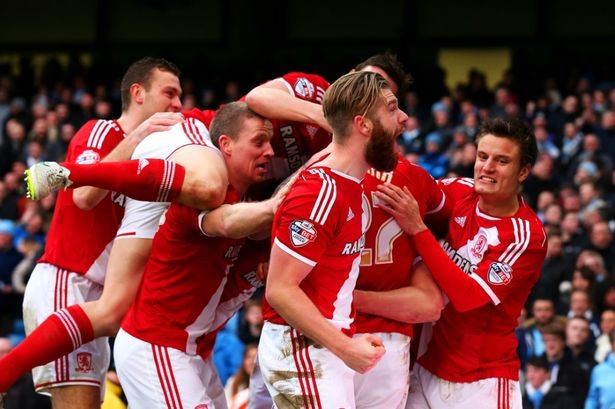 Middlesbrough đang chiến đấu để trụ hạng
