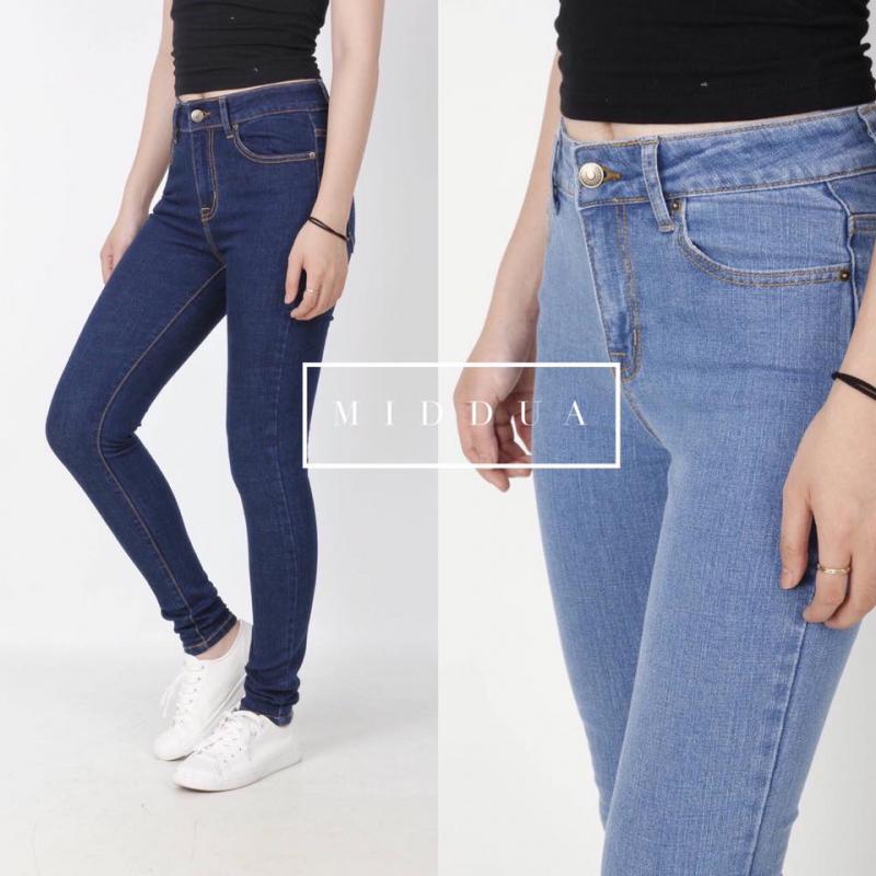 Chất liệu vải jeans vnxk ở shop có tỷ lệ cotton tương đối cao, láng mịn
