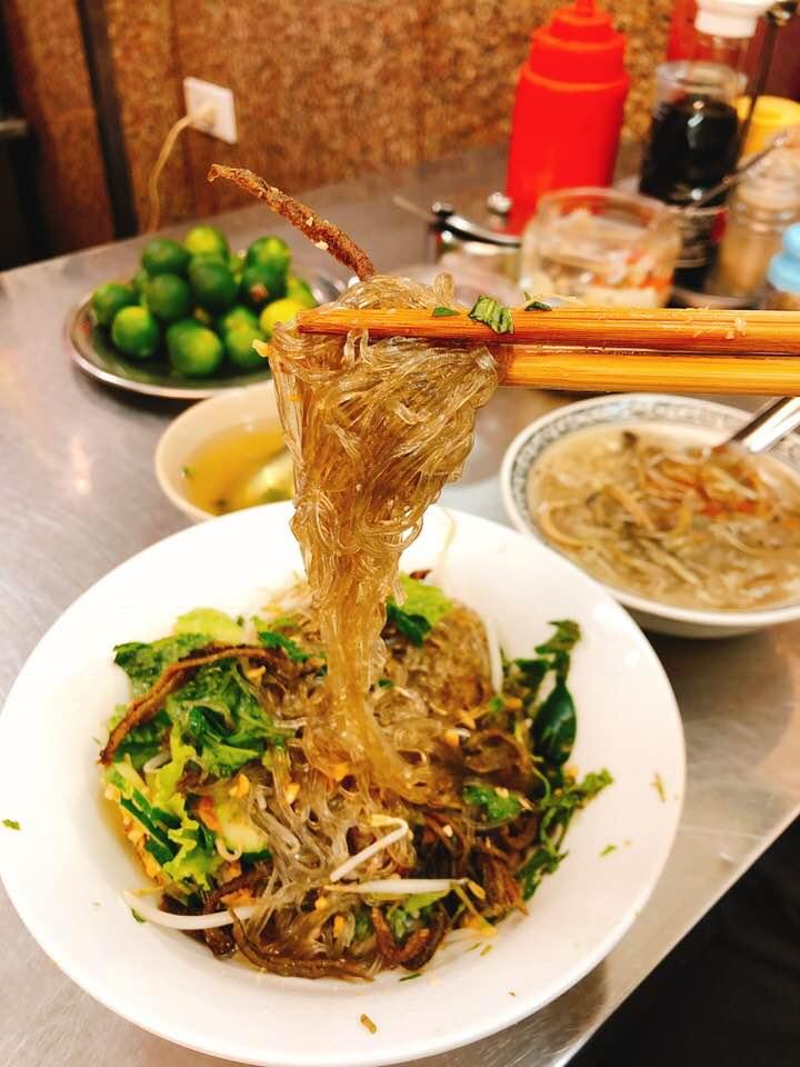 Miến lươn đồng Thái Hà