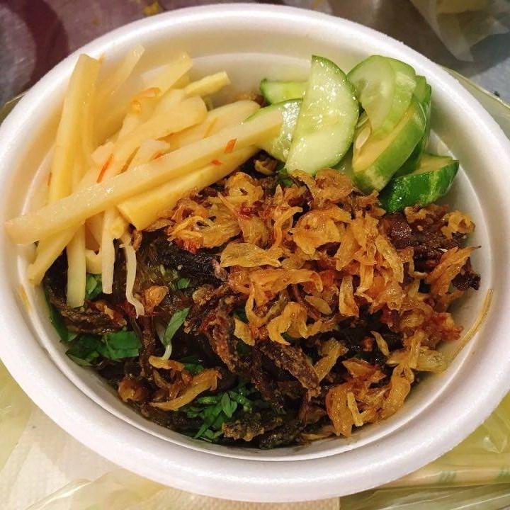 Miến lươn trộn - Nguyễn Tư Giản
